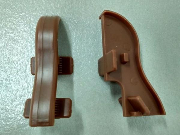Equipped 1244 Verbinder Nussbaum 40mm