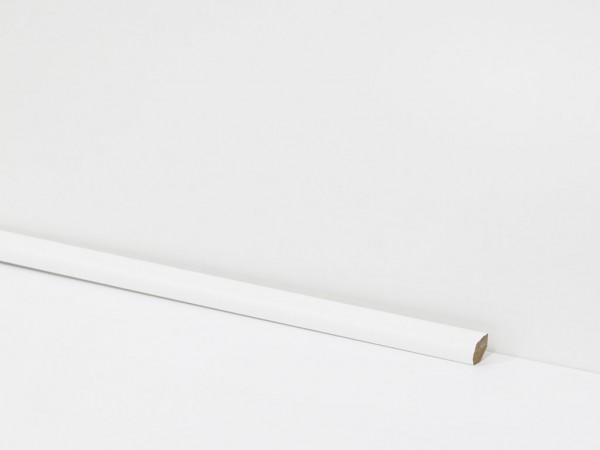 Equipped Sockelleiste 0032 Viertelstab Weiß