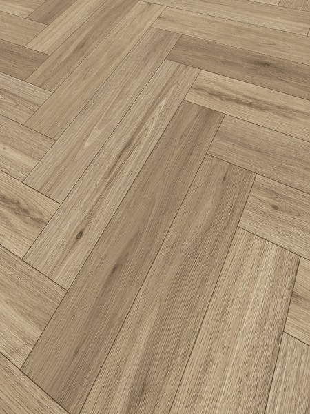 Klebe-Vinyl World of Dryback 3525HE New Orleans Oak Herringbone City 1x4