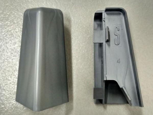 Equipped 1222 Außenecke Silbergrau 58mm