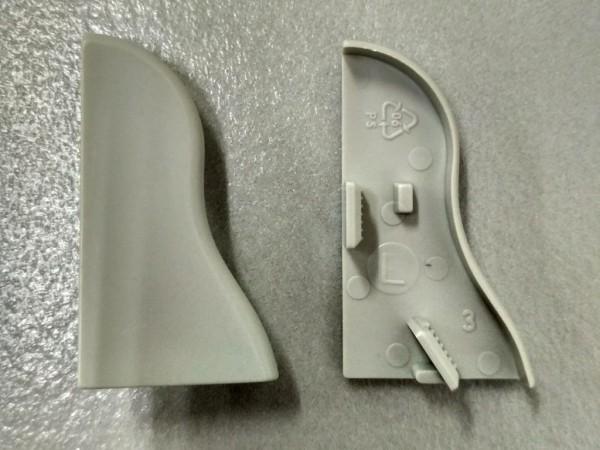 Equipped 1259 Endkappe Grau 40mm