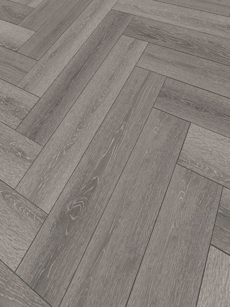 Click-Vinyl World of SPC 3526H St. Louis Oak Herringbone City 1x4