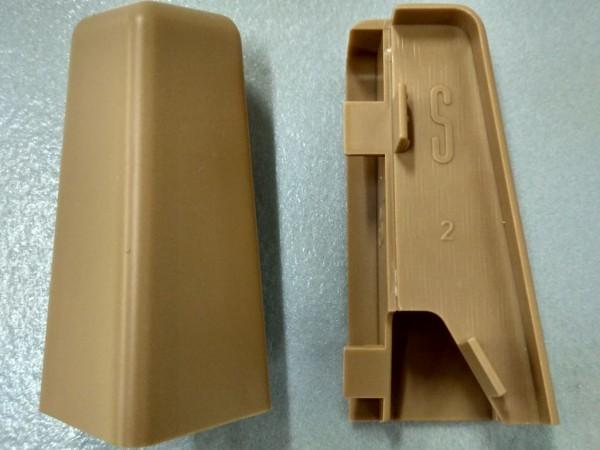 Equipped 1254 Außenecke Eiche 58mm